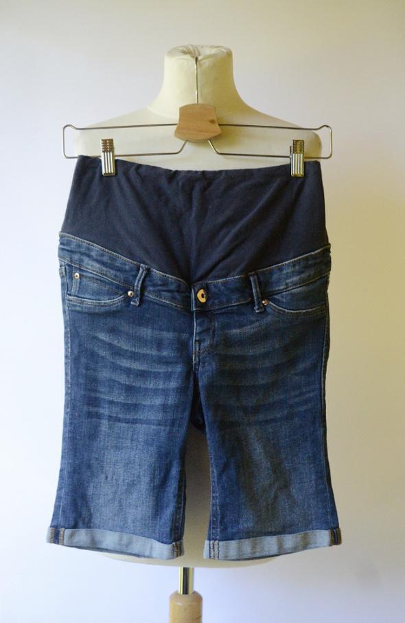 Spodenki Spodenki Ciążowe Ciąża H&M Mama Dzinsowe S 36 Jeansowe