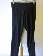 Legginsy Czarne Adidas Climalite S 36 Spodnie Fitness...