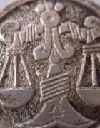 Srebra znak zodiaku waga