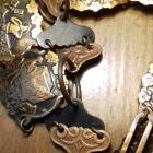 Metaloplastyka z miedzi pasek prl
