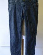 Spodnie Armani Jeans Dzinsowe Rurki 30 L 40 Jeansowe AJ...