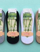 Skarpetki Balerinki 12 par Damskie Bambusowe...