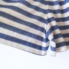 Marynarskie spódnico spodnie w paski niebiesko białe letnie szorty