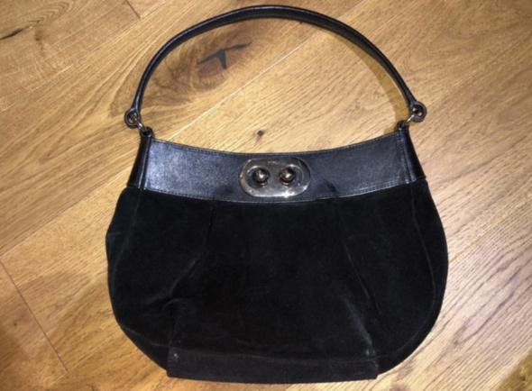 FURLA autentyczna torebka Made in Italy Czarna Skórzana Jak Nowa