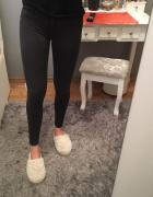 spodnie wysoki stan xs...