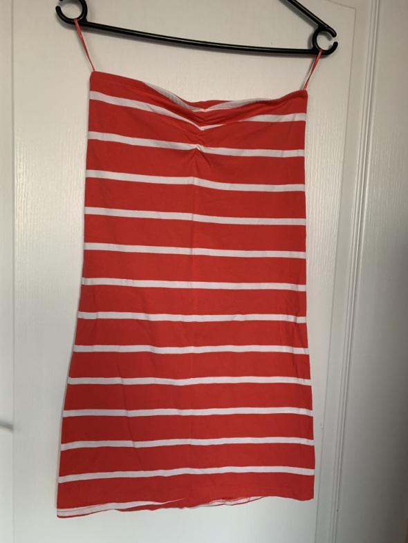 Sukienka tunika bez ramiączek Top Shop 38
