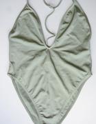 Strój Kostium Kąpielowy Zielony Asos NOWY L 40 Sexy Odkryte Plecy