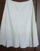 Spódnica letnia biała