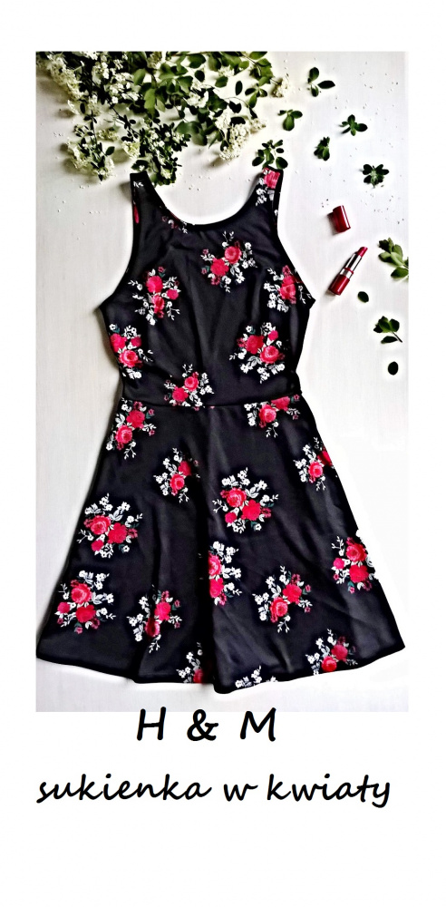 Letnia sukienka w kwiaty H&M