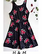 Letnia sukienka w kwiaty H&M...