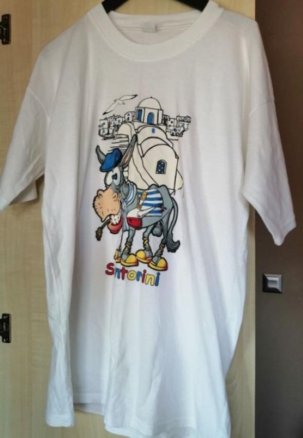 Koszulka z nadrukiem rozmiar L