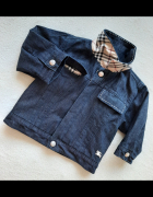 Kurtka Burberry 3 miesiące przejściowa jeansowa