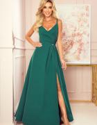 Chiara sukienka maxi zieleń butelkowa S M L XL kolory...