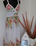 Długa letnia sukienka roz 36...