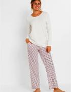 Bawełniana piżama bluzka i spodnie 2 części...