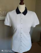 Biała koszulka polo damska COS rozmiar XL...