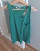 Zielona bluzka typu bokserka...