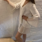 Piękna sukienka tunika Plisowana ZARA