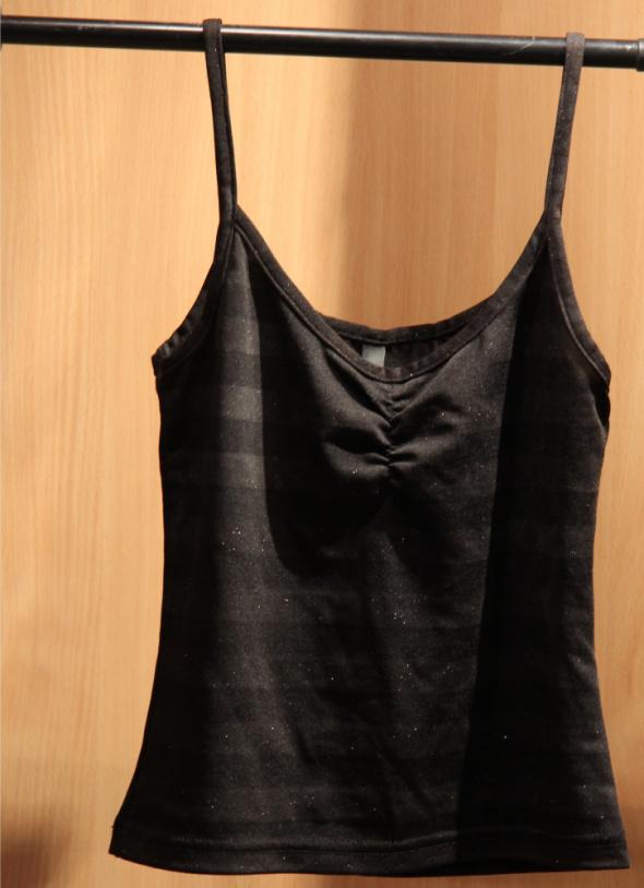 Bluzki Czarna bluzeczka H&M