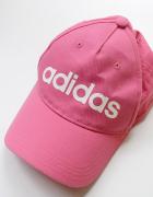 Czapka Różowa Adidas Nowa Róż Bejbolówka One Size...