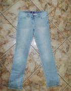 Szare jeansy M