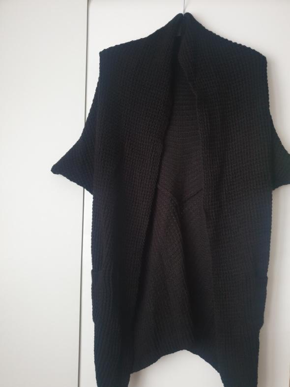 Swetry Kardigan czarny S M L