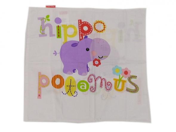 Pozostałe Fisher Price posciel dziewczeca hippo poduszka 40x45 cm kołdra 70x100 cm