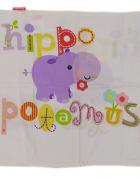 Fisher Price posciel dziewczeca hippo poduszka 40x45 cm kołdra ...