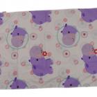 Fisher Price posciel dziewczeca hippo poduszka 40x45 cm kołdra 70x100 cm