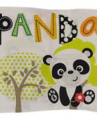 Fisher Price posciel dziewczeca panda poduszka 40x45 cm kołdra 70x100 cm