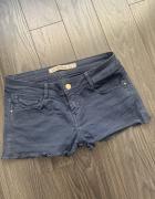Zara spodenki jeans grafit super...