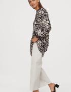 H&M wzorzysta sukienka tunika...