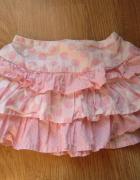 Spódniczka dla dziewczynki biało różowa w groszki Early Days 3 do 6 miesięcy