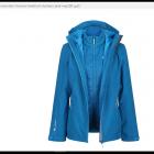 Kurtka REGATTA 3w1 Wentwood IV niebieska 40 L Nowa z metką