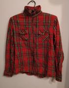 Koszula w czerwono czarną kratkę Zara Girls 13 14 lat 164 cm na...