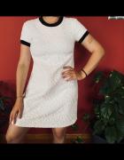 sukienka biała krótka ZARA...