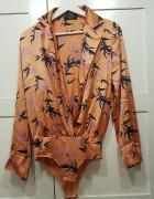 Zjawiskowe body koszula Zara S...