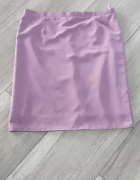 Liliowa spódnica z podszewką 46 48