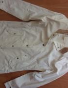 Biały płaszcz przeciwdeszczowy Tretorn S