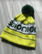 Neonowa ciepła czapka Salomon z pomponem...