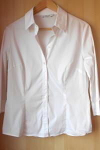 Zara biała koszula klasyka minimalizm...