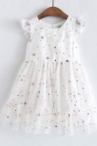 sukienka z gwiazdkami rozmiar 122