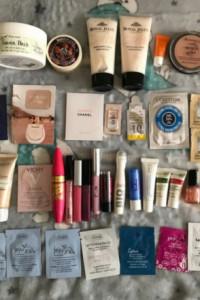Mega zestaw kosmetyków mało używanych