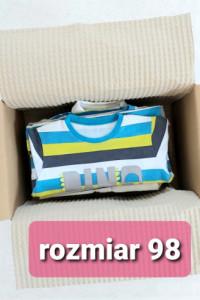 Zestaw paka ubranka dla chłopca r 98 Reserved HM Lupilu