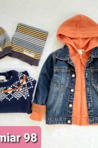 Jesienny zestaw ubrań dla chłopca r 98 ZARA HM Cocodrillo Reserved
