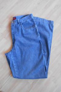 Jackpot jeansy proste vintage