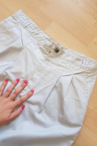 Męskie wizytowe spodnie