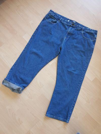 Spodnie Duże jeansowe spodnie