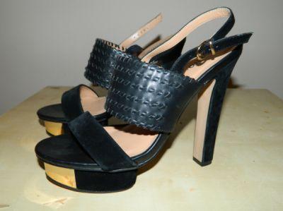 Szpilki seksowne sandały na obcasie