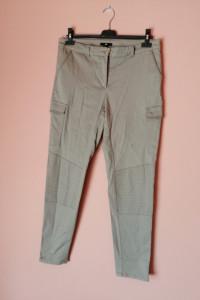 H&M spodnie ala bojowki z zamkami 42 40...
